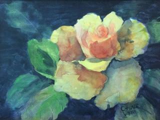 Giddens Gallery of Fine Art in Grapevine presnets Fran Chausse White: Flowering Relationships