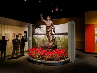 WWI America exhibit