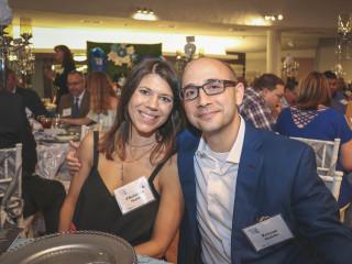 Celebrating Hope Gala/Christina & Trevor Shakiba