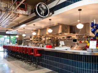 Bravery Chef Hall Atlas Diner counter