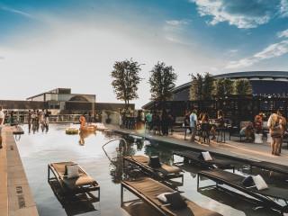 The Edge Pool at Omni Frisco Hotel