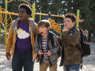 Keith L. Williams, Jacob Tremblay, and Brady Noon in Good Boys