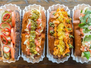 Good Dog hot dog assortment