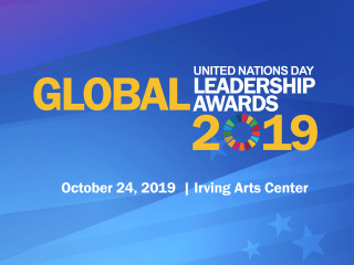UN Day Global Leadership Awards Dinner 2019