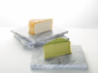 Lady M crepe cake slices