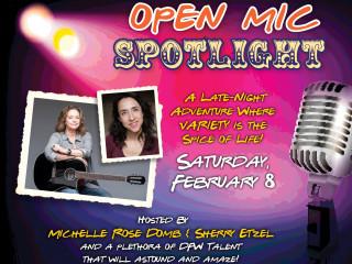 Pocket Sandwich Theatre presents Open Mic Spotlight-Late Night at The Pocket