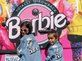 Barbie Totally Throwback Tour truck