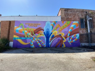 Houston Frost mural GONZO247