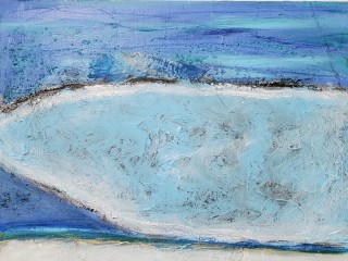 "Hooks-Epstein Galleries presents Sandi Seltzer Bryant: ""Lagoon Hues"""