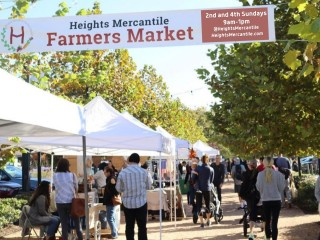 Heights Mercantile Farmers Market