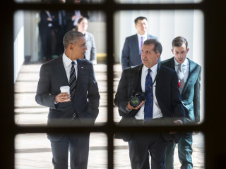 Barack Obama and Pete Souza in The Way I See It