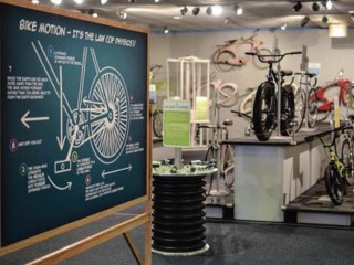 """The Health Museum presents """"GEAR UP: The Science of Bikes"""""""