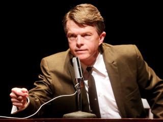 Joel Sandel as RFK in RFK: A Portrait of Robert F. Kennedy