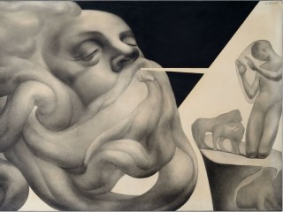 """The Menil Collection presents """"Silent Revolutions: Italian Drawings from the Twentieth Century"""""""