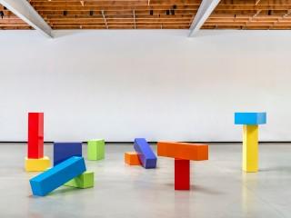 Judy Chicago, Rearrangeable Rainbow Blocks