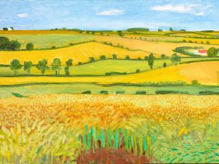 "The Museum of Fine Arts, Houston presents ""Hockney-Van Gogh: The Joy of Nature"""