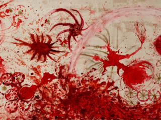 "Kirk Hopper Fine Art presents Charmaine Locke and James Surls: ""Chaos and Mayhem"""