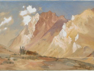 """Thomas Moran's <i>Mount Superior</i>"""