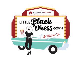 Little Black Dress Down & Drive-In