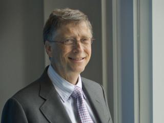 Bill Gates head shot horizontal
