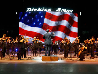 America Strong concert at Dickies Arena