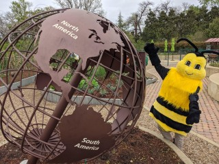 Betty the Bee at the Rory Meyers Children's Adventure Garden