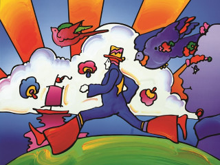 Off the Wall Gallery presents Peter Max: The Retrospective
