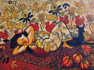 Tiemann Art Gallery presents Gloria Sanchez Hart Retrospective: Fifty Years of Printmaking