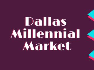 Four Corners Brewing presents Dallas Millennial Market