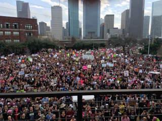 The Houston Women's March