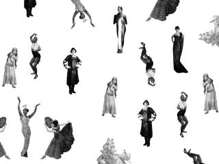 Pola Negri & Josephine Baker Mural Reveal