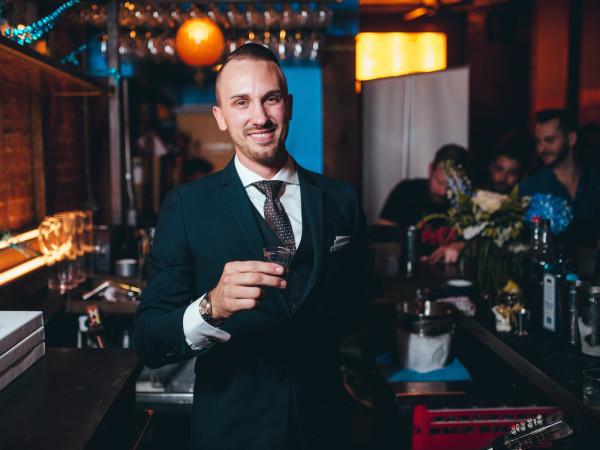 Austin bartender Justin Lavenue Roosevelt Room