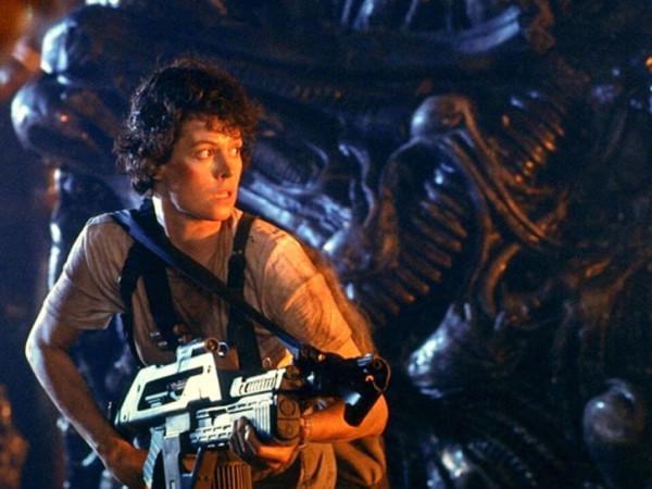 Sigourney Weaver as Ellen Ripley in Aliens