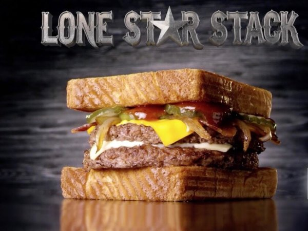 McDonald's Lone Star Stack