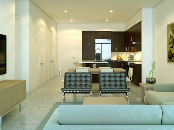 Houston, Urban Flats Condos_August 2015, interior 2
