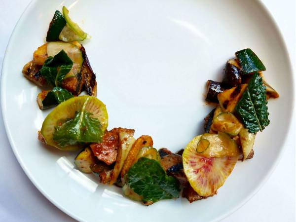 Lüke Luke San Antonio restaurant charred eggplant