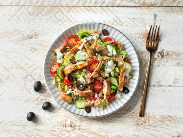 Chicken Gyro Salad from HelloFresh
