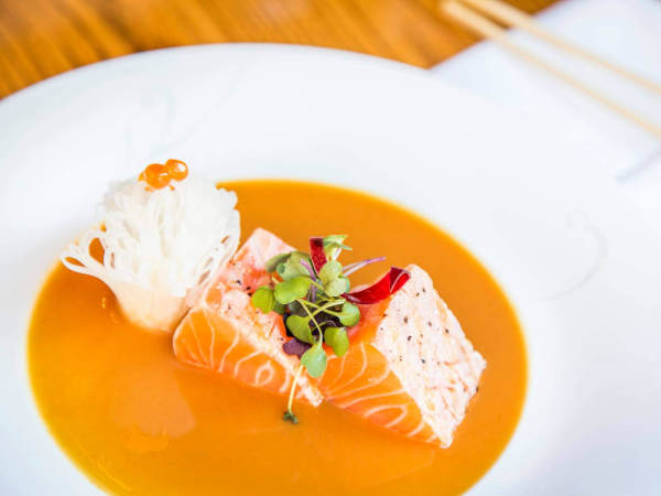 Sushi at Nobu restaurant in Dallas