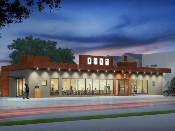 Riel Restaurant rendering