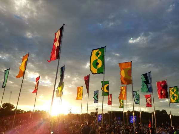 ACL Austin City Limits Music Festival 2016 flags
