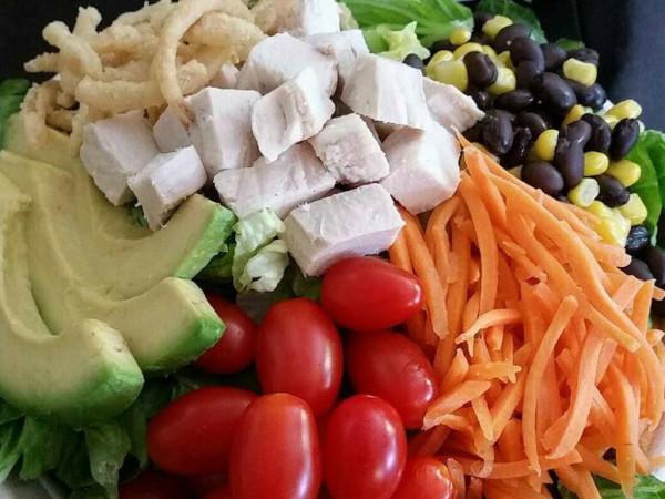 Baby Greens Southwest salad