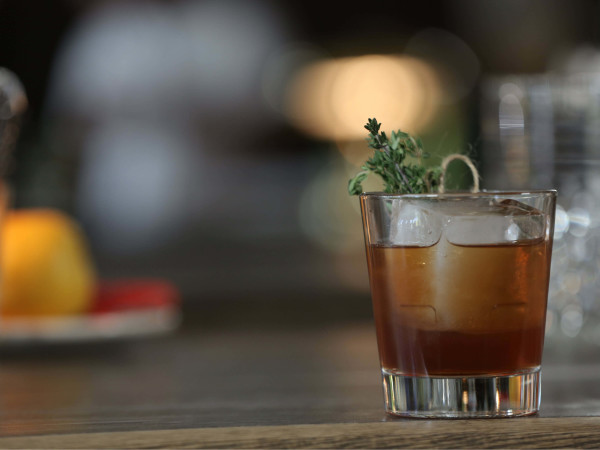 Thyme Out Old Fashioned by Dallas bartender Reed Bairstow