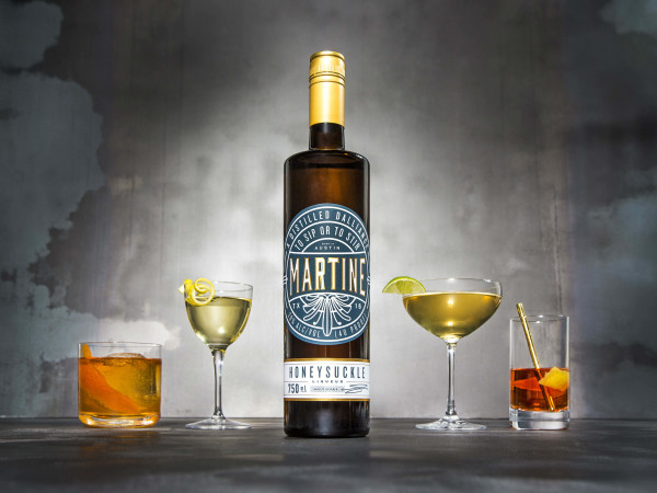 Martine Honeysuckle Liqueur
