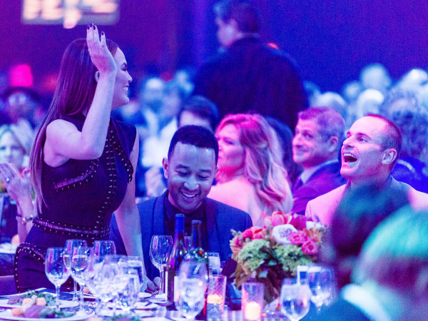 Andy Roddick Foundation Gala 2016 Chrissy Teigen John Legend Andy Roddick