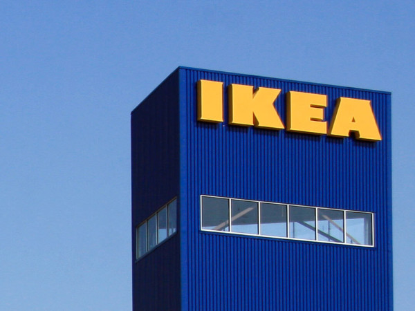 IKEA Houston tower sign
