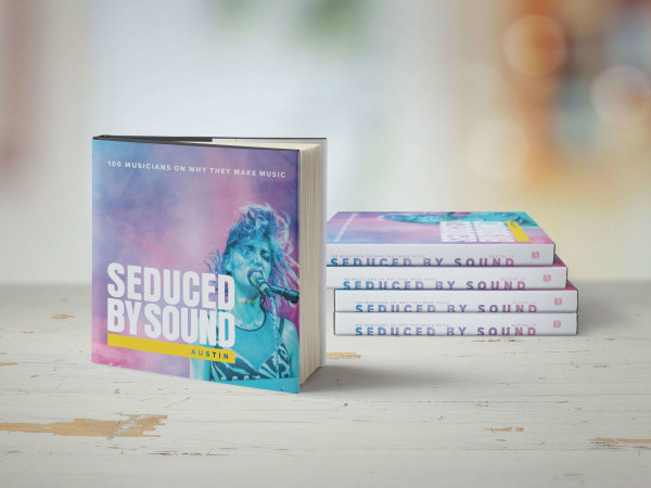 Seduced by Sound book stack