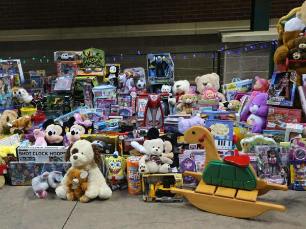 Texas Rangers present Cowboy Santas Toy Drive