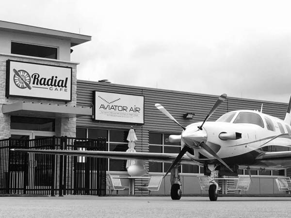 Radial Cafe, Grand Prairie Municipal Airport