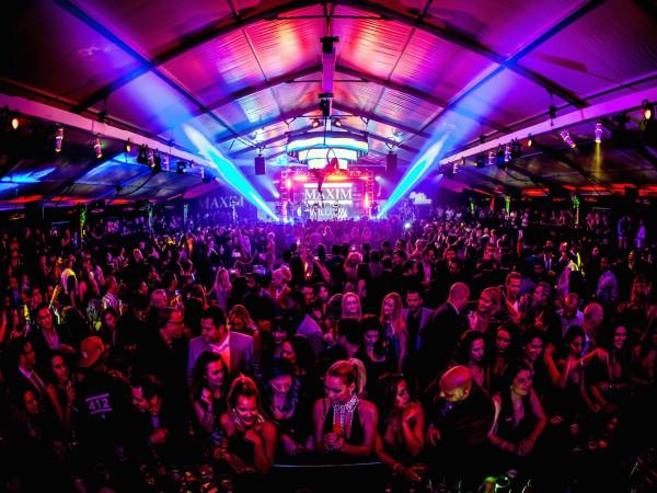 Maxim party at 2016 Super Bowl
