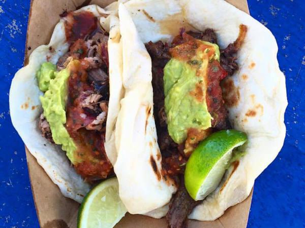 Valentina's Tex Mex BBQ barbecue brisket taco